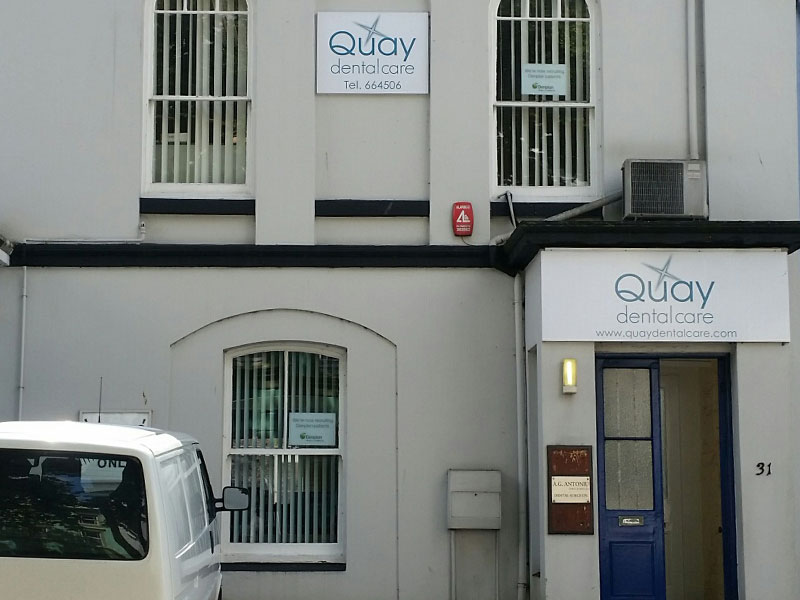 Quay Dental Plymouth - Entrance