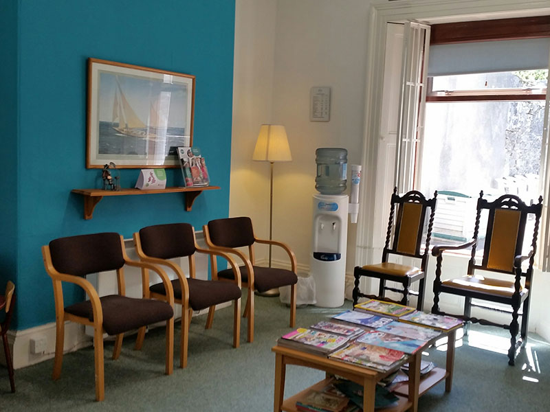 Quay Dental Waiting Room 1