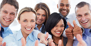 Smiling Dental Patients with their patient plan