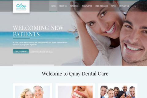 New Dentist Paignton and Plymouth - Website
